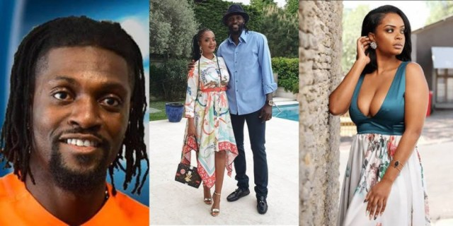 Emmanuel Adebayor Takes To Social Media To Vent After He Caught His Beautiful Girlfriend Cheating On Him With A 'Sugar Daddy' (+Screenshots)