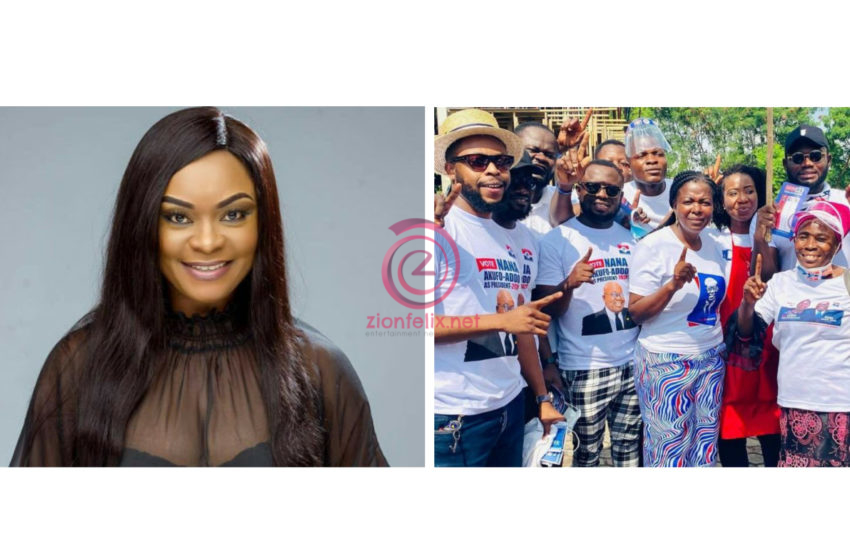 Face Me If You Have Balls – Beverly Afaglo Dares NPP Celebrities Hiding Behind Fake Accounts To Attack Her (+Photo)