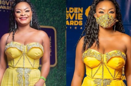 Vexmad Beverly Afaglo Angrily Reacts To Reports Saying That She Was One Of The 'Worst Dressed Celebrities' At The 2020 Golden Movie Awards
