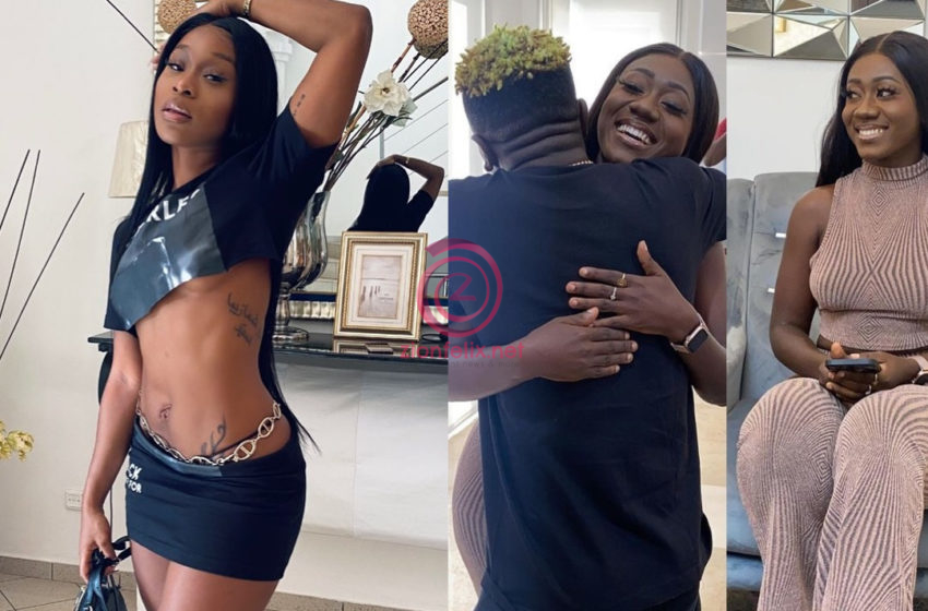 Efia Odo Says She Going To Fix Her Small Backside Days After Her Bestie, Shatta Wale Met Hajia Bintu (Video)