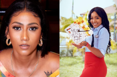 Queen Of Slayers, Hajia4Real Shares Beautiful Photos Of Her Younger Sister Who Just Graduated To Become A Medical Doctor