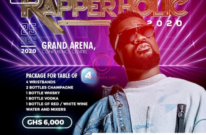 Rapperholic2020: Sarkodie Finally Releases Tickets For The Limited Edition – It Cost A Whopping Ghc10,000 And Less