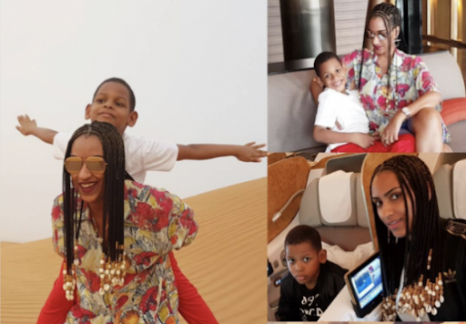 Juliet Ibrahim Joins Ex-husband, Kwadwo Safo Jnr To Celebrate Birthday Of Their Only Son, Jayden With Lovely Videos