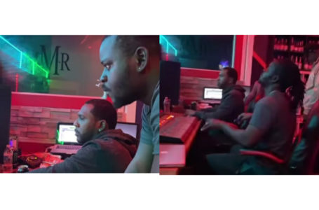 Jupitar Hits The Studio With Brainy Beatz In USA (Watch Video)