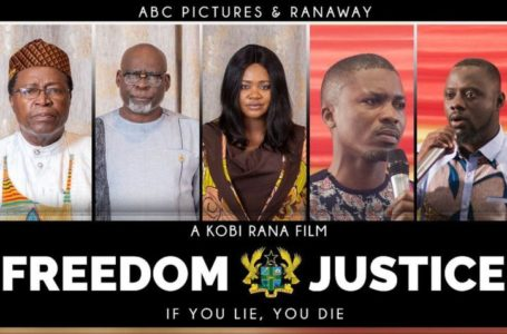 "Kafui Danku And Team Reimburse Movie Lovers Who Paid To Watch Their Political Movie ""Freedom And Justice"" Which Was Banned From Showing By Ghana Tourism Authority"