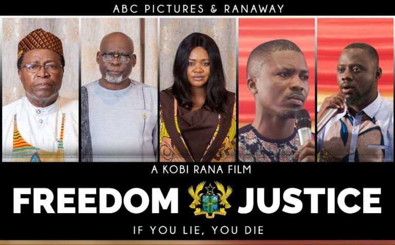 """Kafui Danku And Team Reimburse Movie Lovers Who Paid To Watch Their Political Movie """"Freedom And Justice"""" Which Was Banned From Showing By Ghana Tourism Authority"""