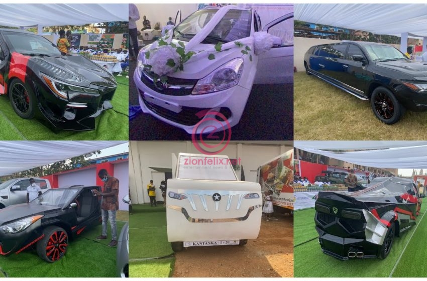 Kantanka Holds 40th Tech Exhibition; New Cars, TV, Tapes, Foods And Other Inventions Displayed (Video)