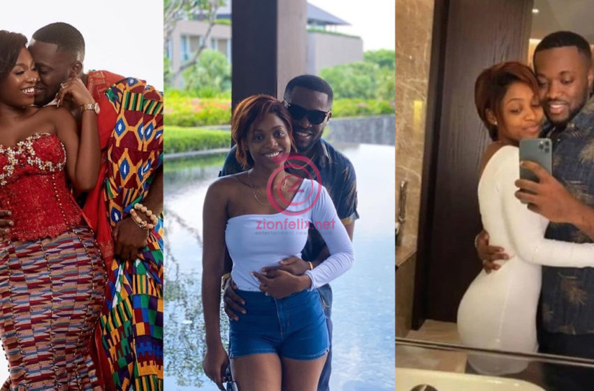 Kennedy Osei's Wife Shares First Photos Of Her Beautiful Mum As She Celebrates Her Birthday; He Joins In With Sweet Message (+Screenshots)