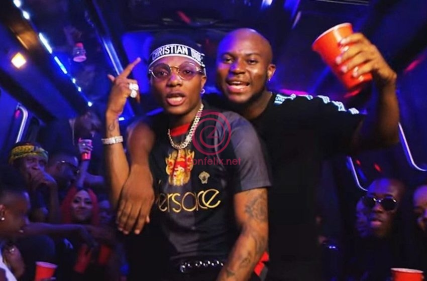 Nigerian Superstar, Wizkid Arrives In Ghana For A Special Hangout And Recording Section With King Promise And Killbeatz (Video)