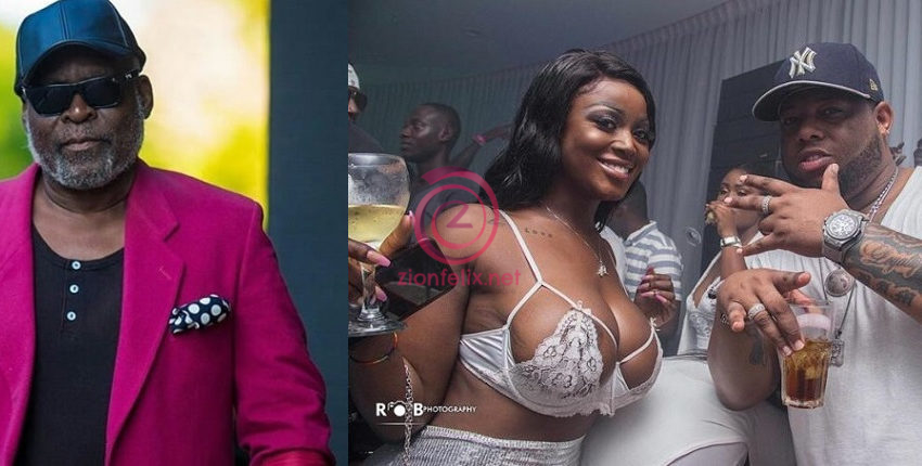 Kofi Adjorlolo Spotted Smooching D-Black's Girl, Nina Ricchie At The Night Club (Video)