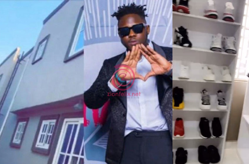 Medikal Finally Gives Fans An Exclusive Inside View Of His New 7 Bedroom House And Expensive Closet (Video)
