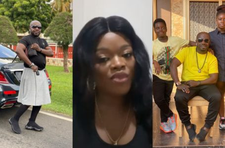 Osebo Replies Ex-wife, Ohemaa For Warning Him Over His Kids (+Screenshot)