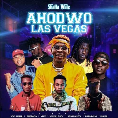 Shatta Wale Drops Visuals For 'Ahodwo Las Vegas' Feat. Kofi Jamar, Kweku Flick, Phrimpong, Phaize, King Paluta, Amerado, And Ypee (Watch)