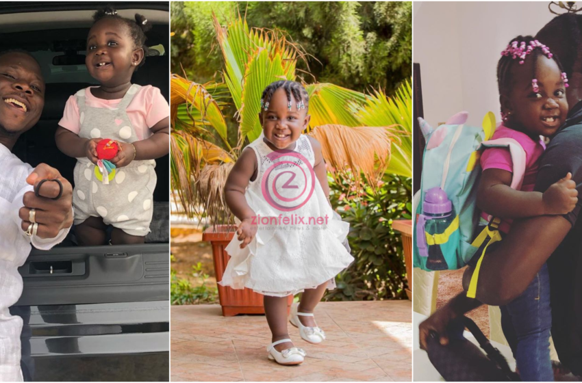 VIDEO: Stonebwoy's Brilliant Daughter Melts Hearts Online As She Speaks Impeccable English And Shops With Him