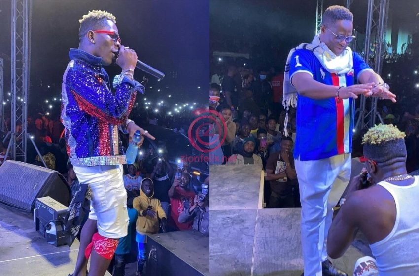 Source Reveals The Big Money Shatta Wale Pocketed For Performing At Peter Amewu's Victory Party In Hohoe