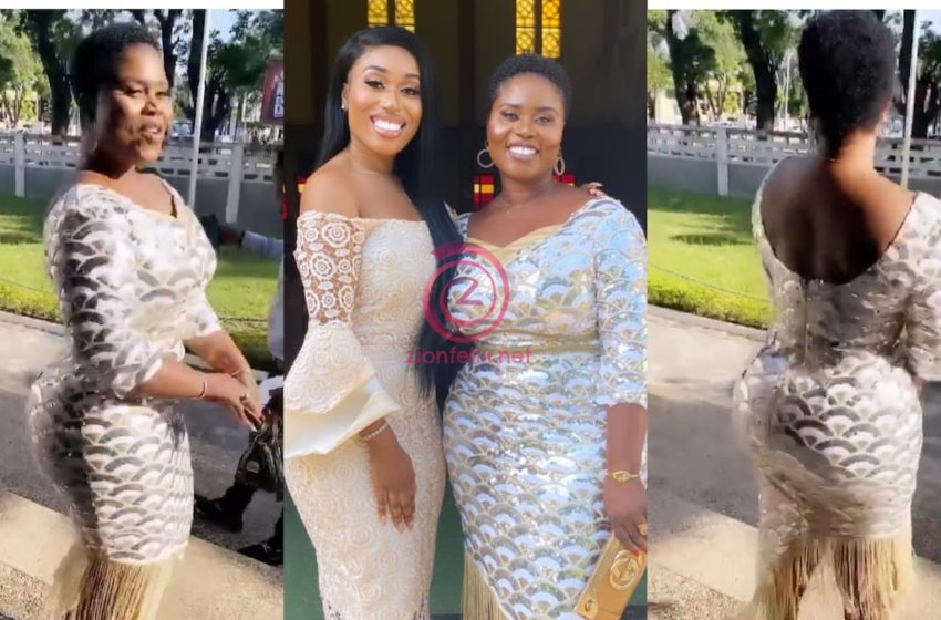 Fantana Drops First Lovely Reaction After Her Beautiful Mother Won The Jomoro Seat As MP On The Ticket of The NDC