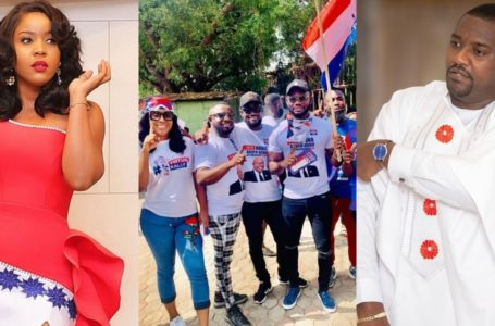 Our Genuine Love And Support For NPP Has Pushed Others To Show Their Fake Love To Dumelo – Actress Jessica Williams Fires (See Post)
