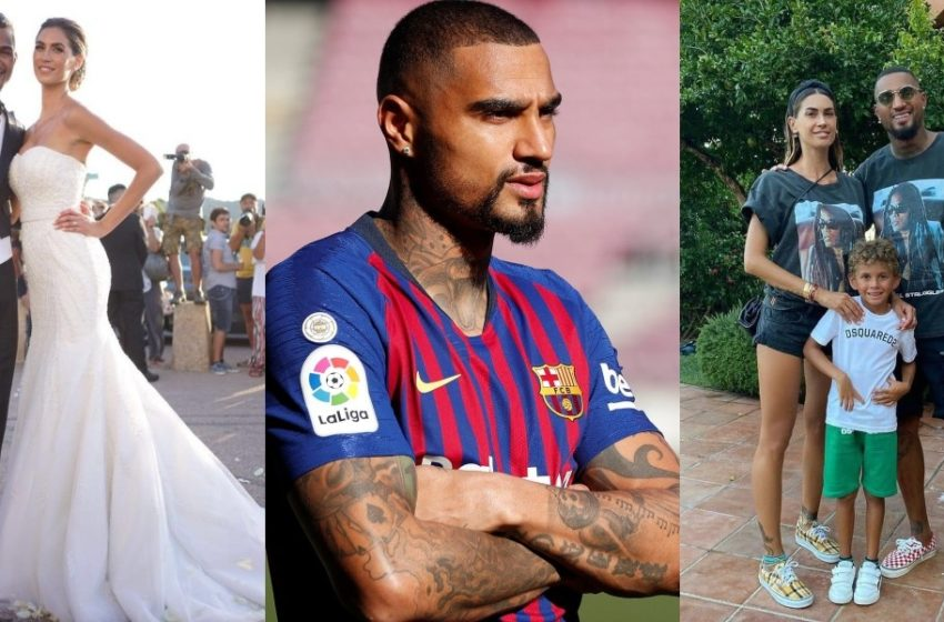 Just In: Kevin Prince Boateng And Wife Divorce (Details Pop Up)