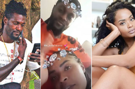 He Is A Narcissistic – Says Adebayor Beautiful Ex-girlfriend As She Reacts To Allegations That She Cheated On Him With A Richer 'Uncle' (Video)