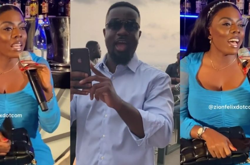 Nana Aba Anamoah Showers Praises On Sarkodie At Launch Of Rapperholic 2020 In New Video – Watch