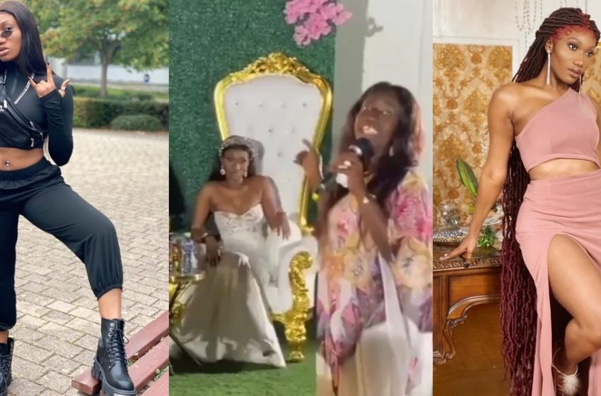 Wendy Shay Gets Married In Private Wedding Ceremony? (Video)