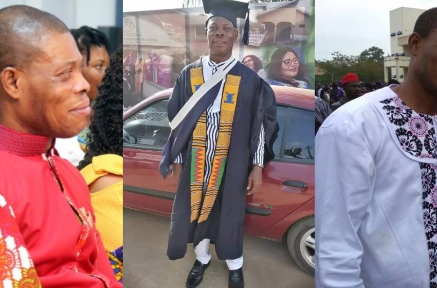 Ghanaian Actor Waakye Graduates From Bible School (See Beautiful Graduation Photos)