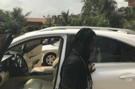 Ras Kuuku Acquires New Car (See Photos)