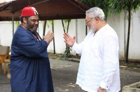 Peter Edochie Eulogizes His LongTime Friend Flt. Lt. Jerry John Rawlings