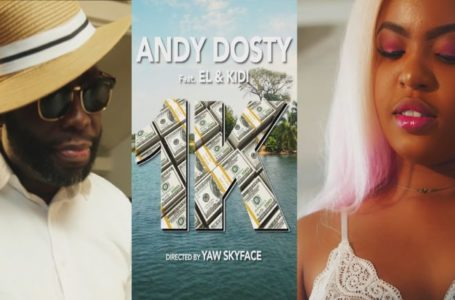 Andy Dosty Finally Releases Classy Video Filled With 'Heavy' Ladies For  '1K' Featuring Kidi And EL – WATCH