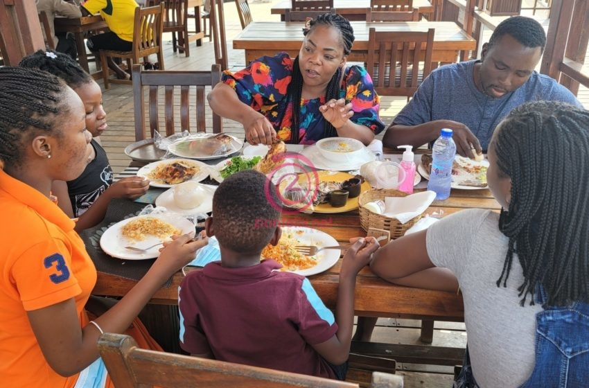 Celestine Donkor Shares Photos Of Her Husband And Adorable Kids Online As They Go On Special Vacation