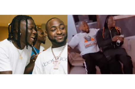 Davido Hosts Stonebwoy In Nigeria Ahead Of The Headies (Watch Video)