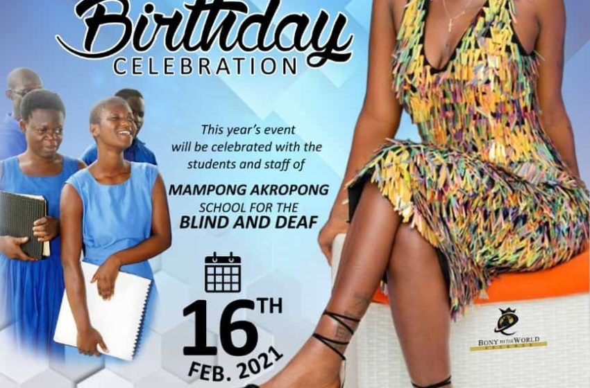 Ebony Reigns' 2021 Memorial Birthday Celebration To Take Place At Mampong Akropong School For The Blind And Deaf