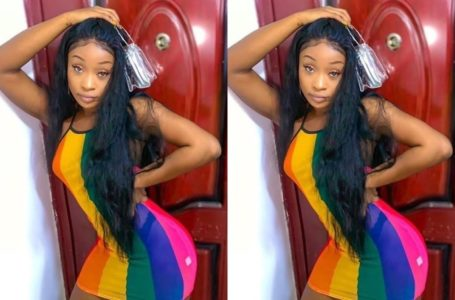 Efia Odo Showers Praises On Her Boyfriend, Says She Is Proud Of Him