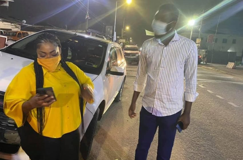 Radio Presenter OB Nartey Finally Meets Celestine Donkor After He Talked Against Her New Song  With Efya And Akwaboah (+Photos)