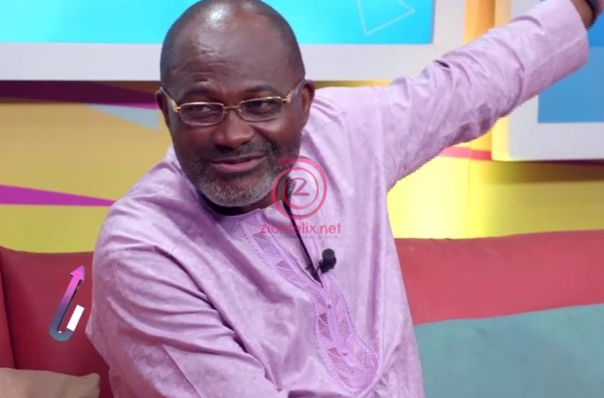 TRENDING PHOTO: Kennedy Agyapong Spotted On Camera 'Sleeping' At President Akufo-Addo's SONA 2021