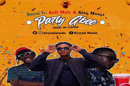 Krymi Teams Up With Kofi Mole And King Maaga On New Song 'Party Gbee' (Watch Visuals)