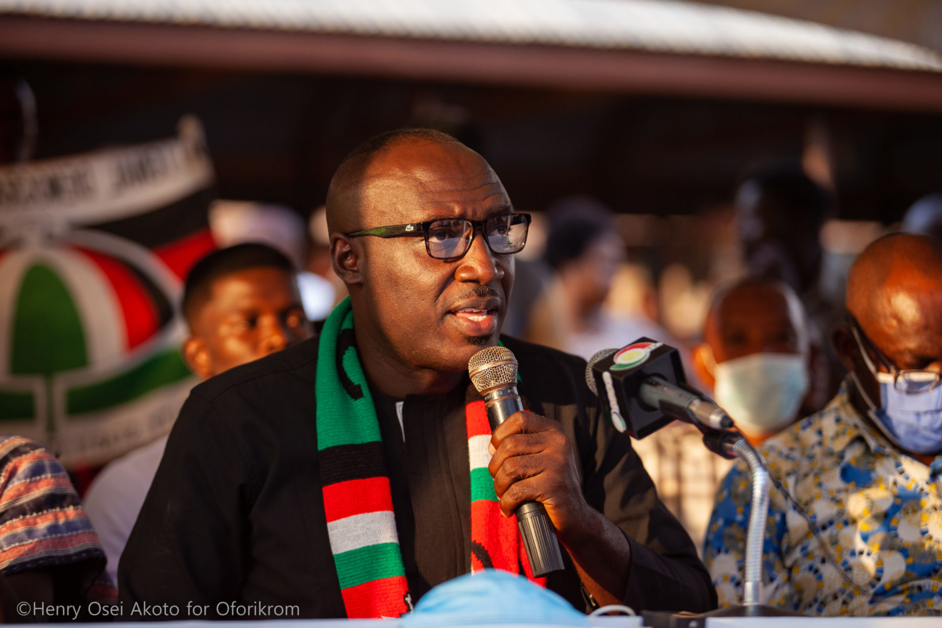 Former NDC PC For Oforikrom Henry Osei Akoto Calls Out Umaru Sanda For Spreading Fake News