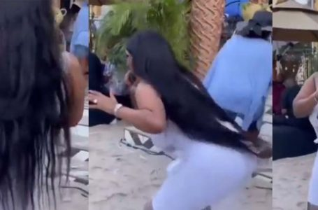 "Nana Ama Mcbrown Twerks In New Video As She Performs Keche's ""No Dulling"" (Video)"