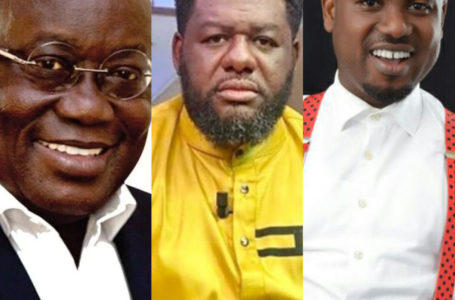 Abeiku Santana Goes On His Knees As He Begs President Akufo-Addo On Bulldog's Behalf (Watch Video)