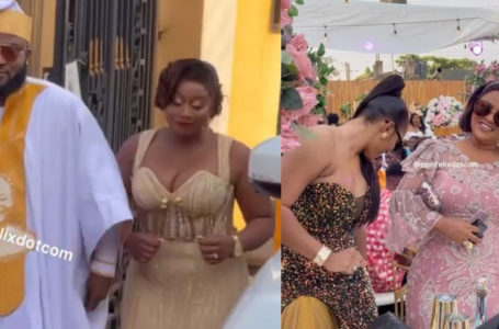 Check Out All The Exclusive Videos From Film Maker, Nana Kwasi Brown's Wedding Attended By Nana Ama Mcbrown, And Other Top Stars (Videos)