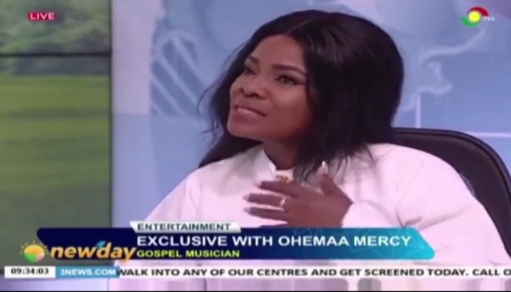 Ohemaa Mercy Shed Tears As She Talks About Her New Song On TV (Watch Video)