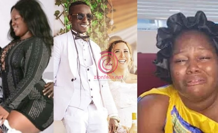 Patapaa's Ex-girlfriend, Queen Peezy Cries Out After He Married Liha And Claims He Only Married Her For Money (Video)