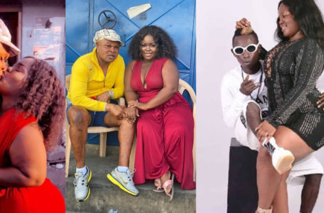 Broken-hearted Ex-girlfriend Of Patapaa, Queen Peezy Finds Love With Over-bleached Bukom Banku – Photo And Video Of Them Kissing Surfaces Online