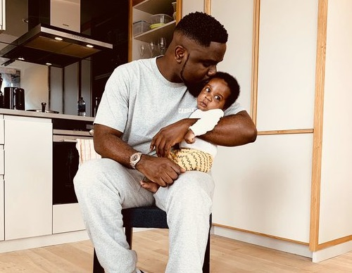 Sarkodie's wife, Tracy Sarkcess Shares Rare Video Of Their Son, MJ Online (Video)