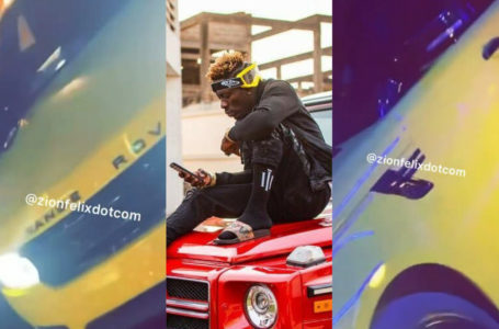Shatta Wale Acquires New Range Rover (+Video)