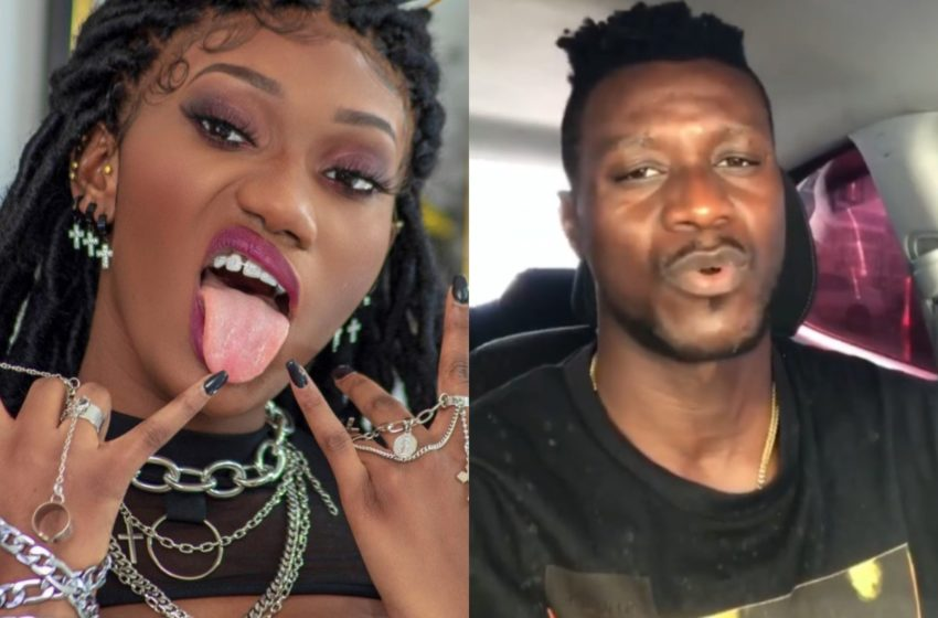 VIDEO: Wendy Shay Shades Keche Joshua Again; Tells Him To $hut Up Because A Woman Takes Care Of Him