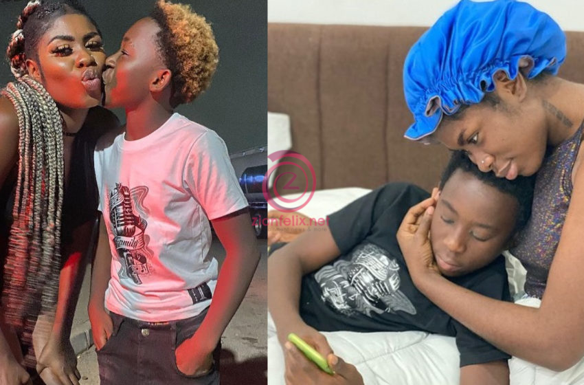 Yaa Jackson Starts Massive Campaign To Get Her Son More Followers On Social Media (Photos)