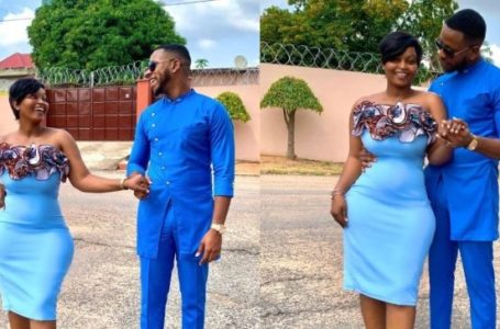 Yolo Star, Aaron 'Cyril' Adatsi And His Baby Mama, Eyram Release 'Save The Date' Photos But They Are Not Getting Married Yet