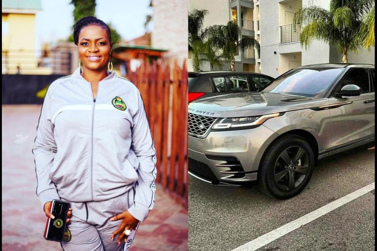 See Photos Of The 19-Year-Old Son Of Ayisha Modi Who Bought Her The Brand New Range Rover Valar