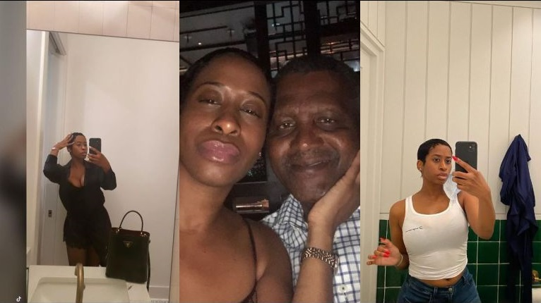 Very Stunning Photos Of Aliko Dangote's Beautiful Ex-sidechick Causing Trouble, Bea Lewis Discovered
